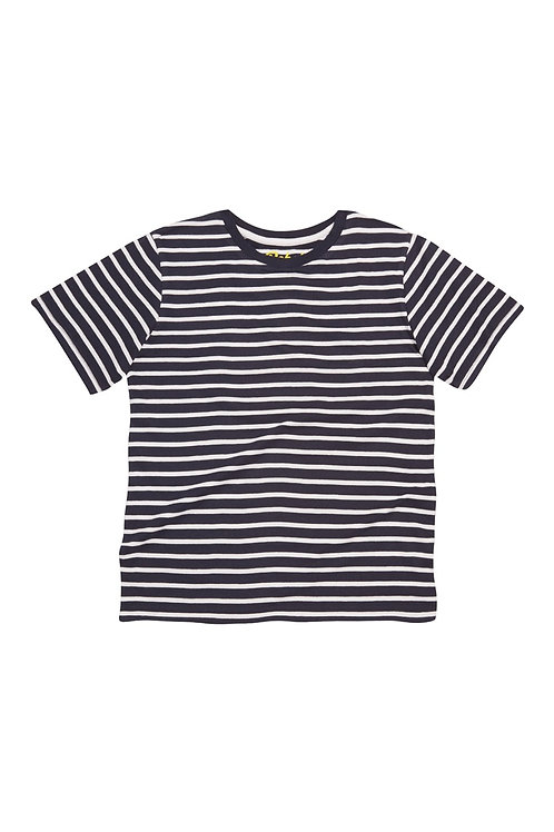 Navy And White T-Shirt from Rebel
