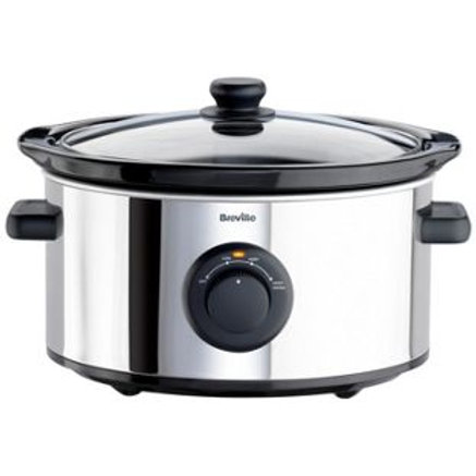 Breville ITP136 3.5L Slow Cooker - Stainless Steel