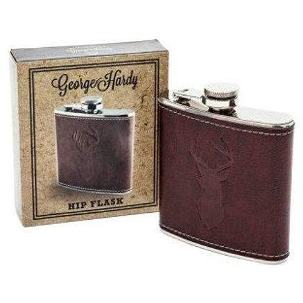 George Hardy Hip Flask