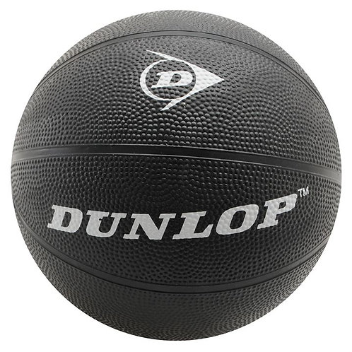 Black Dunlop Rubber Basketball Ball