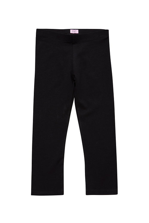 Black  F&F Cropped Leggings with As New Technolog