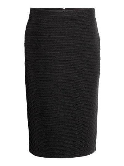 Black Pencil Skirt  by H & M