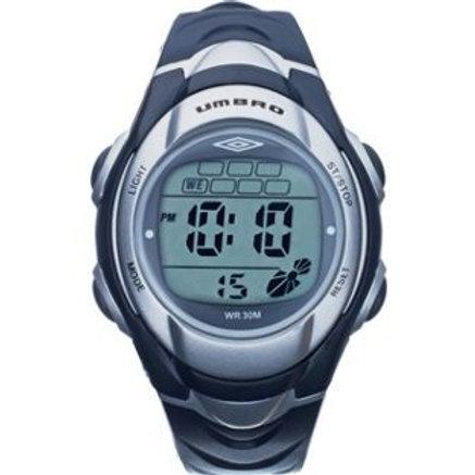 Umbro Men's Blue Strap LCD Watch