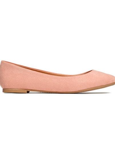H&M light pink ballet pumps