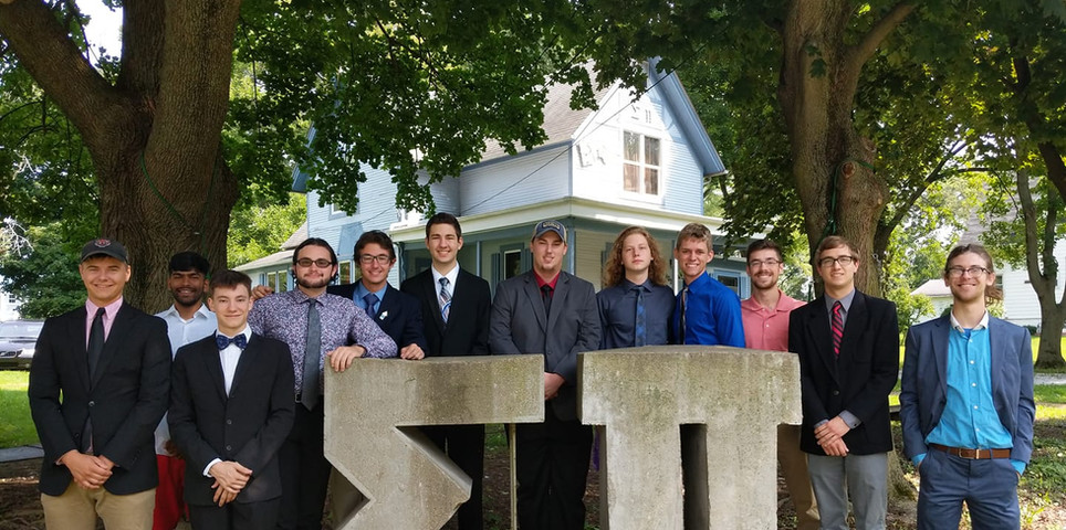 The brothers of Sigma Pi