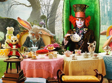 Alice, The Door Mouse & Cheshire Cat….But What happens if the Mad Hatter comes back?