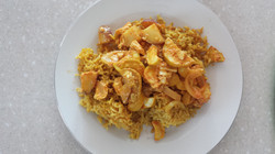 Coconut Curry With Brown Rice.