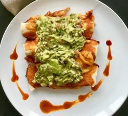 Enchilada and Guacamole