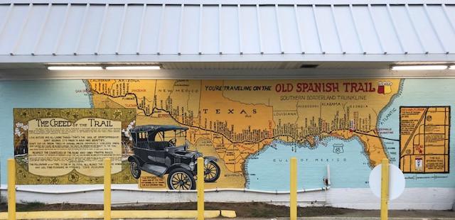 Spanish Trail Building Mural