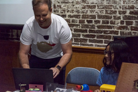 Storytelling Workshop w/ Tom Mikota and His Daughter