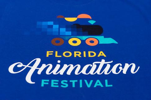 Florida Animation Festival T-shirt Design