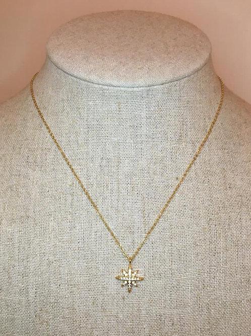Sparkle Star Necklace