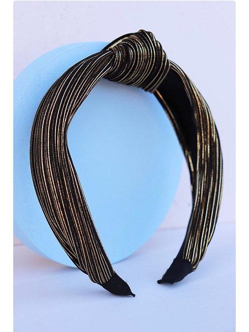 Gold and black Headband