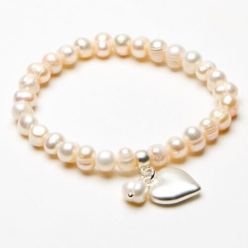 Freshwater Pearl Charm bracelets