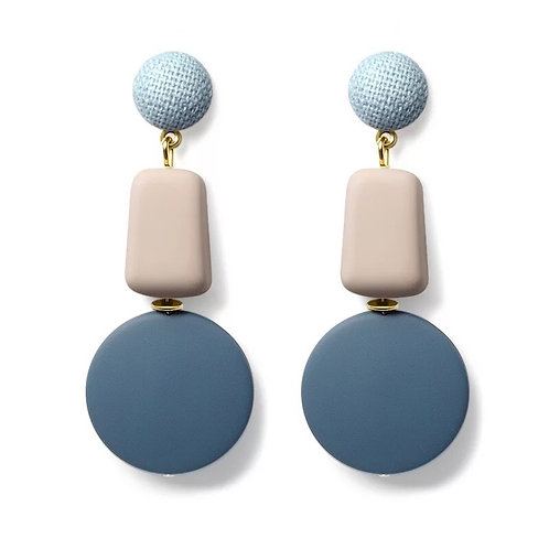 Colourblock earrings