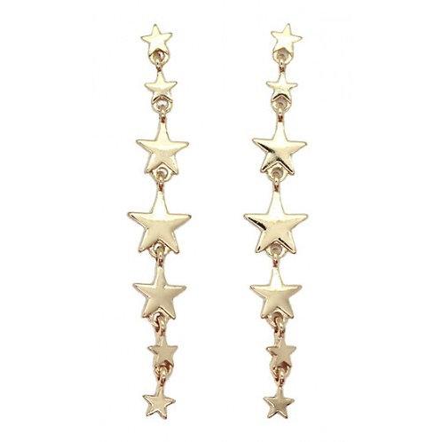 7 Star Drop Earrings