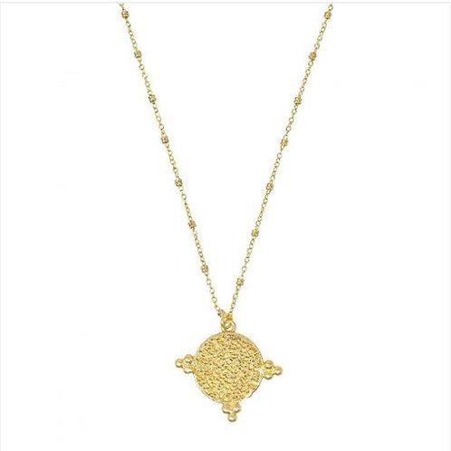 Casablanca Short Coin Necklace