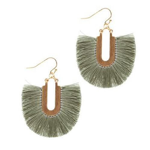 Fringe Earrings - more colours available
