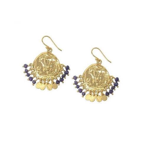 Maya Coin Earrings