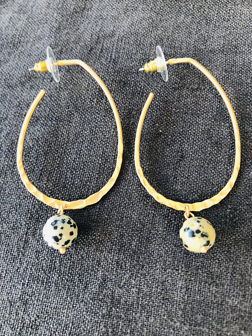 Leopard Ball Hoops