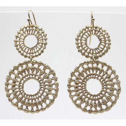 Double Lace Filigree Earrings