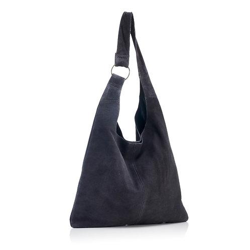 Sling Bag Grey Suede