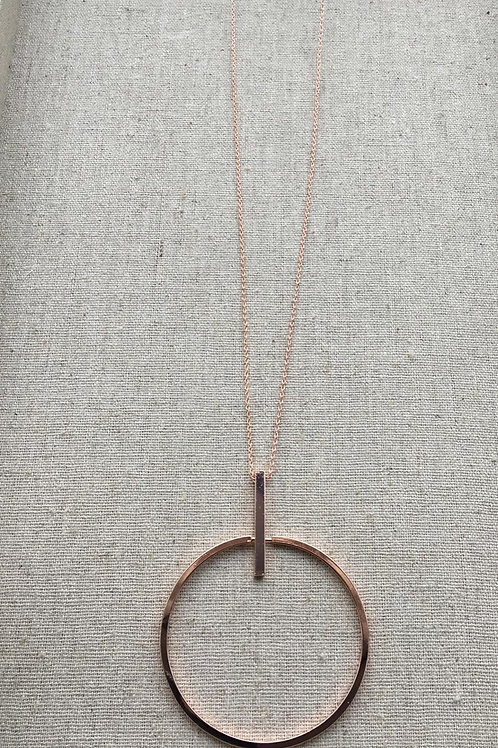 Rose Gold Rosa necklace