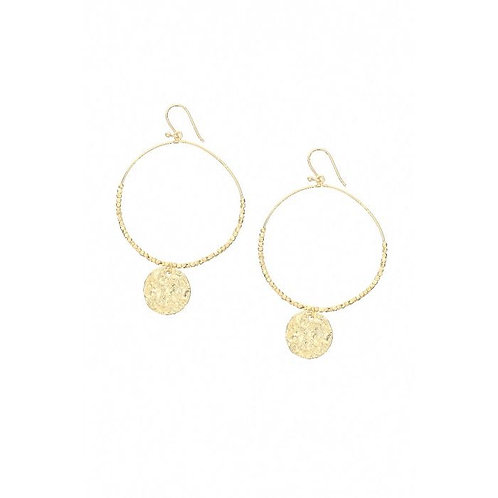 Coin hoops - Large