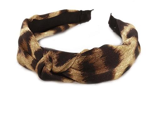 Silky Leopard Headband