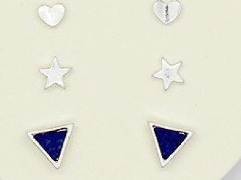 Trio earring sets