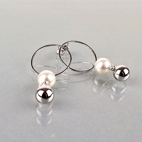 Matilda Pearl Drop Earrings