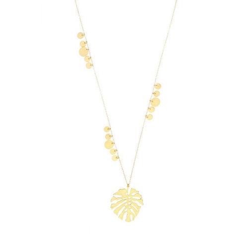 Palm Leaf Necklace