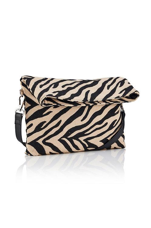 Zebra Clutch/Crossbody Bag