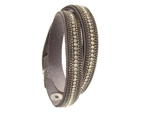 Sparkle Double Wrap bracelet