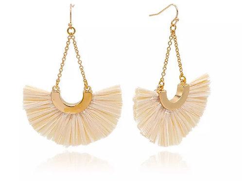 Summer Raffia Earrings