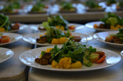 Salads ready to serve!