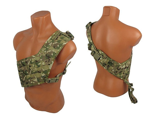 m.o.l.l.e. bandolier Multicam vest chest rig airsoft paintball