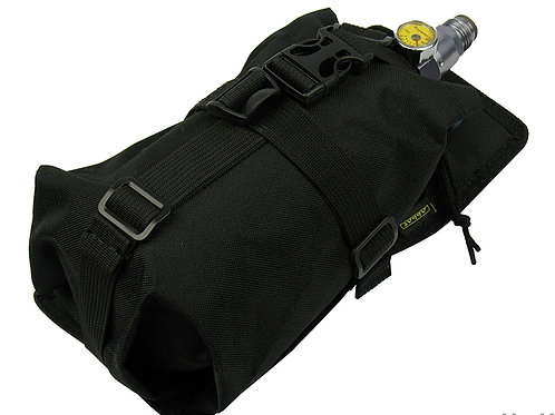 M.O.L.L.E Air Tanks  HORIZONTAL CYLINDER ninja (0,8-1,8L) BACK VEST black