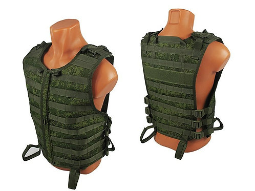 M.o.l.l.e. VEST Chest rig vest airsoft paintball rus pixel
