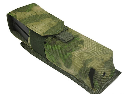 Pouch 2 RPK SAIGA-12 BOAR-12 M.O.L.L.E PAINTBALL TUBE 160 BALL a-tacs fg