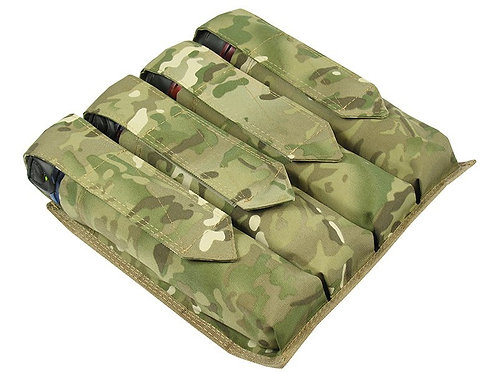 M.O.L.L.E  POUCH ON THE WAIST UNDER THE FOUR TUBES AT 140-160 BALLS MULTICAM