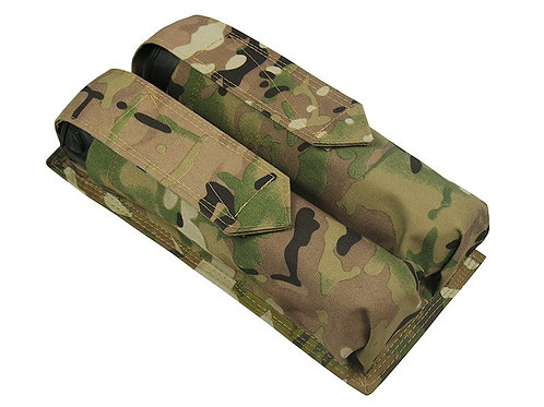 M.O.L.L.E  POUCH FOR TWO TWIN TUBES AT 140-160 BALLS multicam
