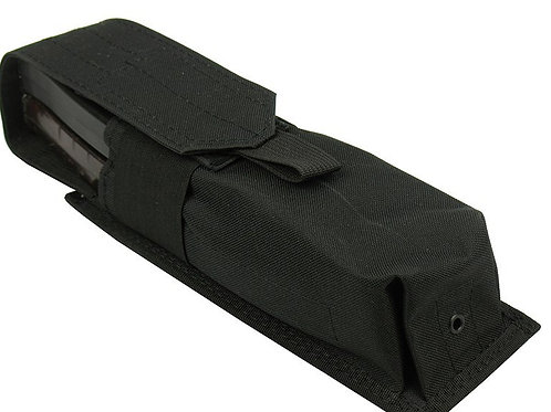 Pouch 2 RPK SAIGA-12 BOAR-12 M.O.L.L.E PAINTBALL TUBE 160 BALL black