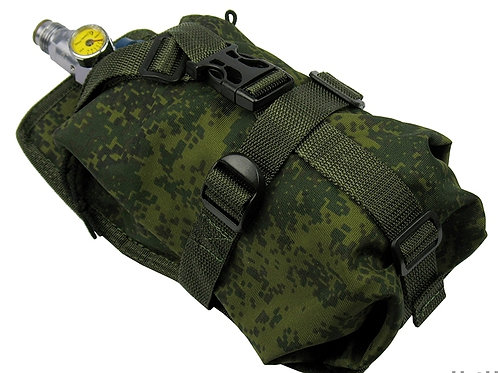 Air tank co2 pouch vertical CYLINDER ninja (0,8-1,8L) rus pixel emr