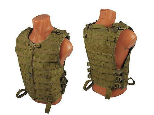 M.o.l.l.e. VEST Chest rig vest airsoft paintball coyote brown
