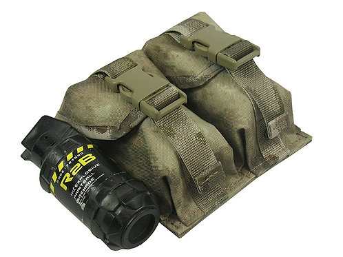 M.O.L.L.E POUCH DOUBLE UNDER TWO GRENADES. MODEL №3 atacs au