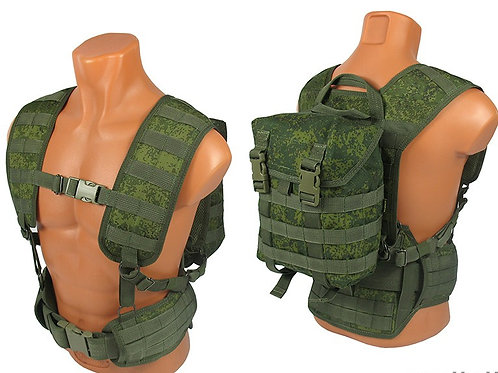 M.o.l.l.e. backpack bag rus pixel emr
