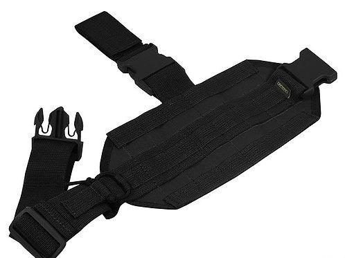 M.o.l.l.e. thigh platform black