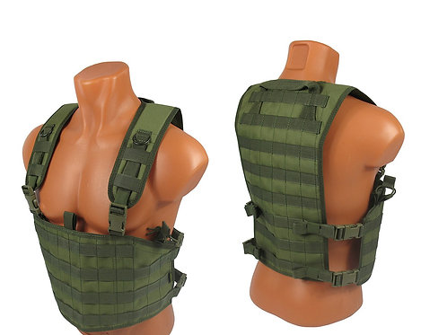 tactical Chest rig airsoft paintball molle