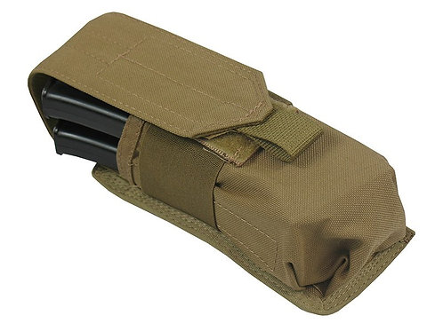 Pouch 2 AK AS VAL AUG BOAR-12 SAIGA-12 100 BALL PAINTBALL coyote brown